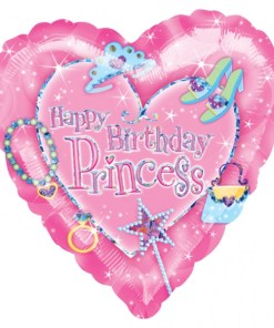 Princess Birthday at London Helium Balloons