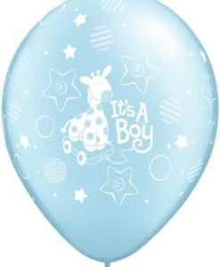 """10 Its a Boy Helium Filled 11""""latex Party Party Balloons"""