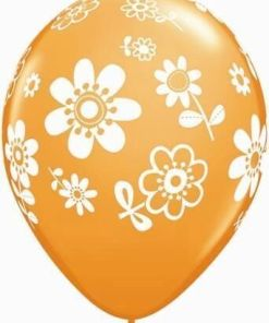 """10 contempo daisies  Helium Filled 11""""latex Party Party Balloons"""