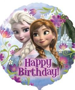Frozen Happy Birthday Helium Filled Foil Balloon