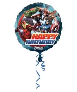 avengers happy birthday Helium Filled Foil Balloon