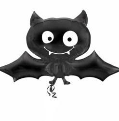 black bat shape  Helium Filled Foil Balloon