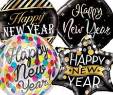 New Year Helium Balloons
