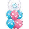 Baby reveal at London Helium Balloons
