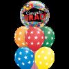 Grad Cap & Triangles at London Helium Balloons