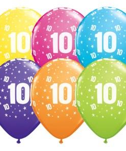 Treated Aged Latex Balloons