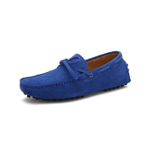 mens blue driving shoes loafers - suede driving shoes chelsea london loafers