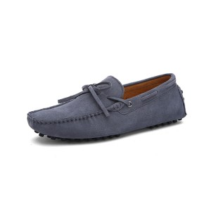 mens grey driving shoes loafers - suede driving shoes chelsea london loafers
