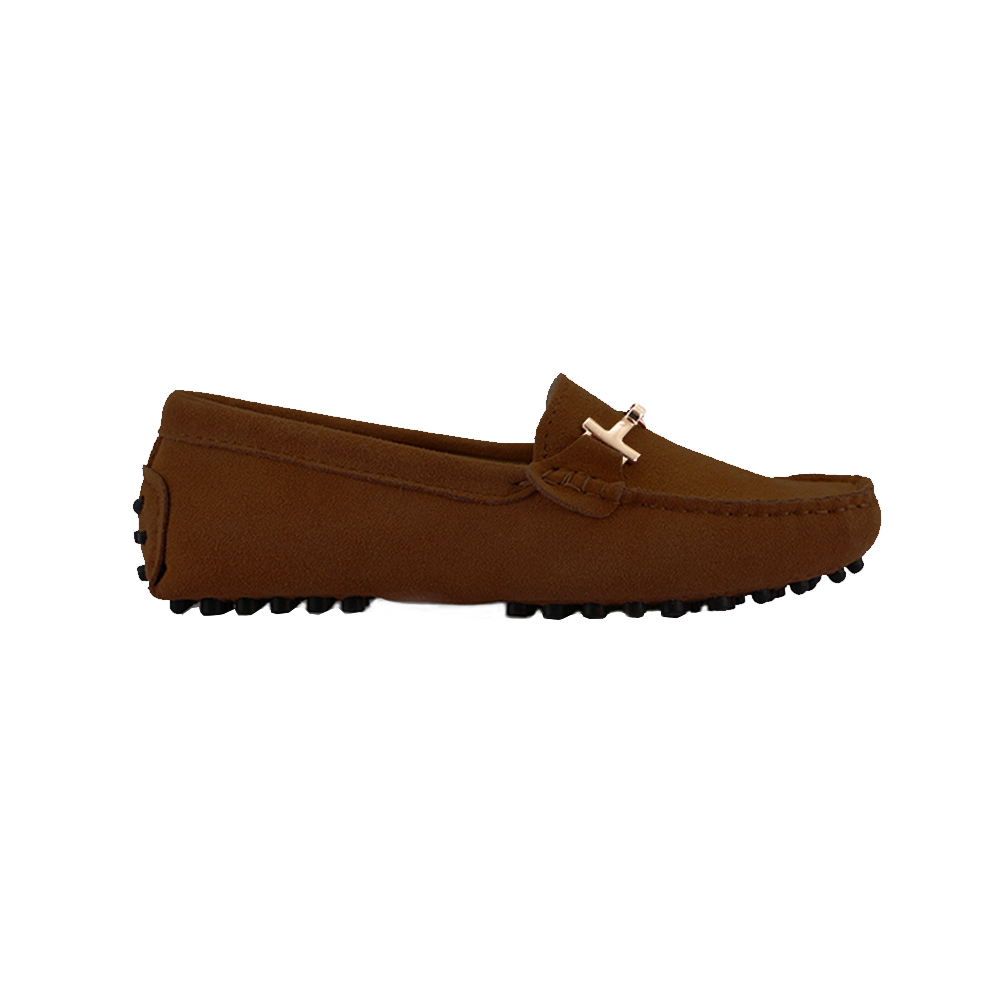 womens brown suede horsbit driving shoes - windsor shoe by london loafers 2