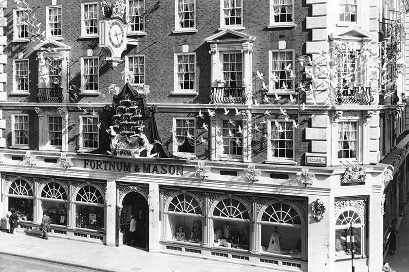 Old photo's of Fortnum and Mason