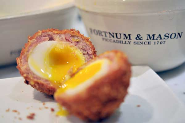 Fortnum and Mason's scotch egg