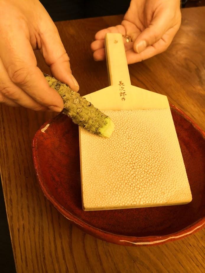 Sakagura revisited grating wasabi