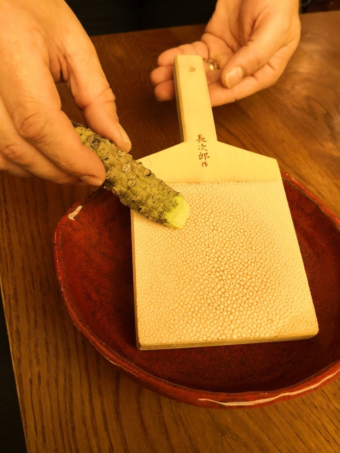 Sakagura revisited grating wasabi