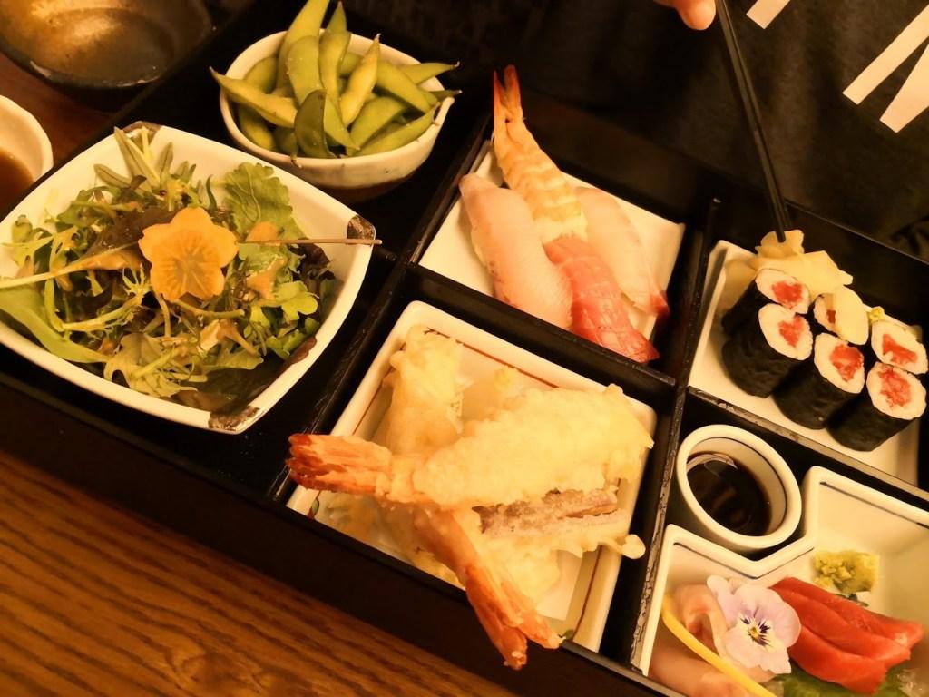 Sakagura revisited bento box