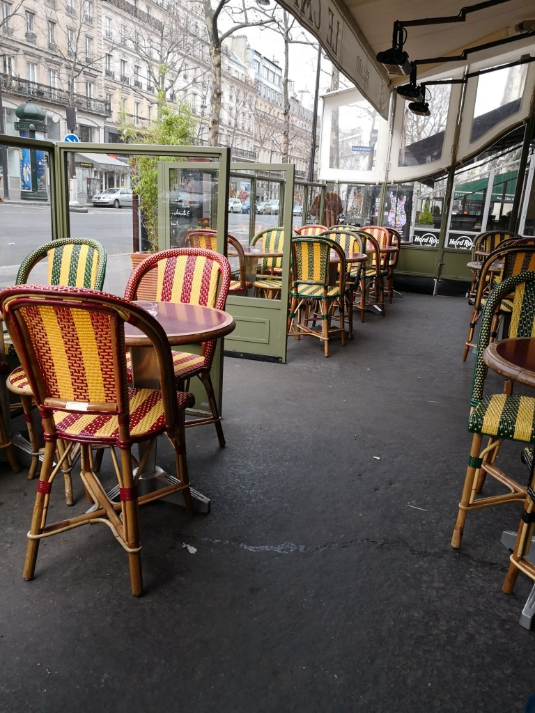 hotel Chopin cafe Zephyr chairs