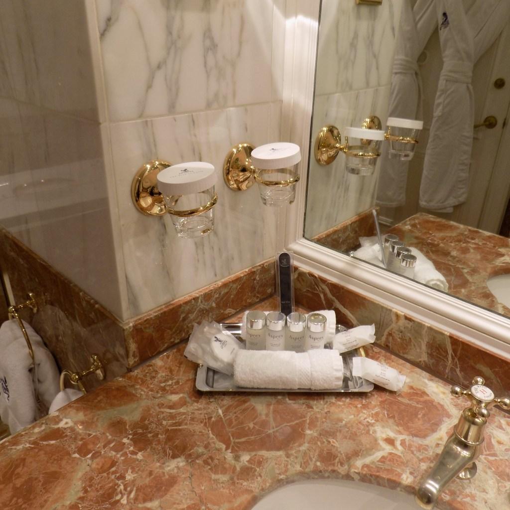 Ritz Hotel bathroom