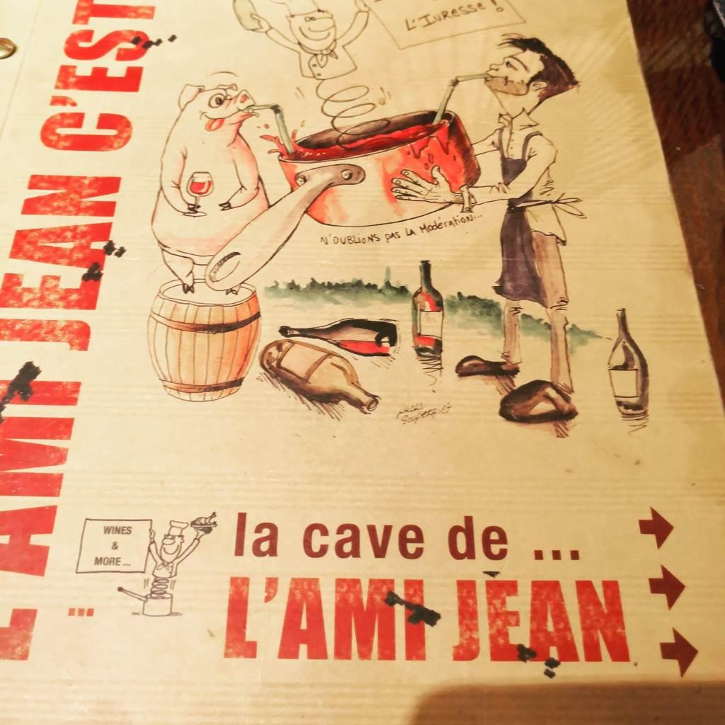 Paris stories, L'Ami Jean Bistro