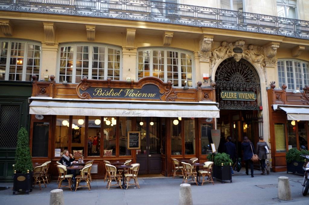Bistrot Vivienne, Paris stories