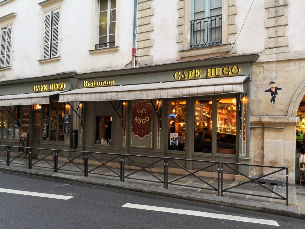 Paris Stories January 2019, Cafe Hugo