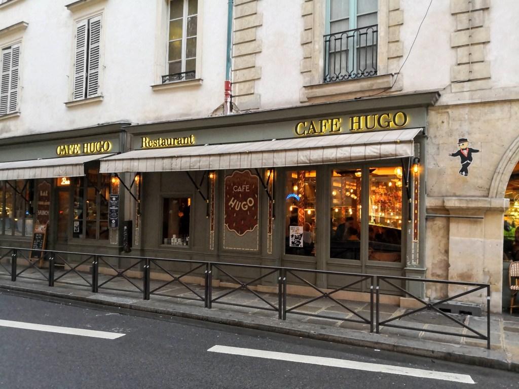 Paris Stories January 2019, Cafe Hugo