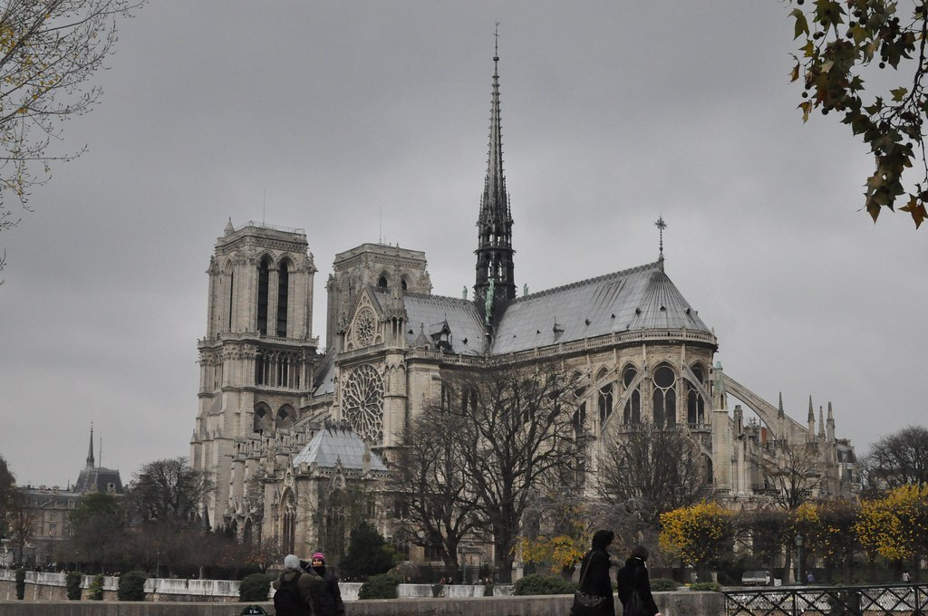 The fire of Notre Dame