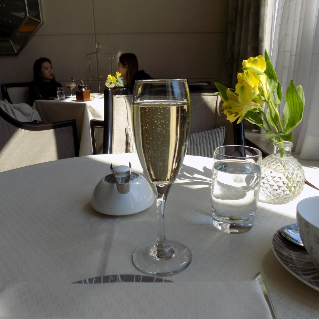 Royal afternoon tea champagne