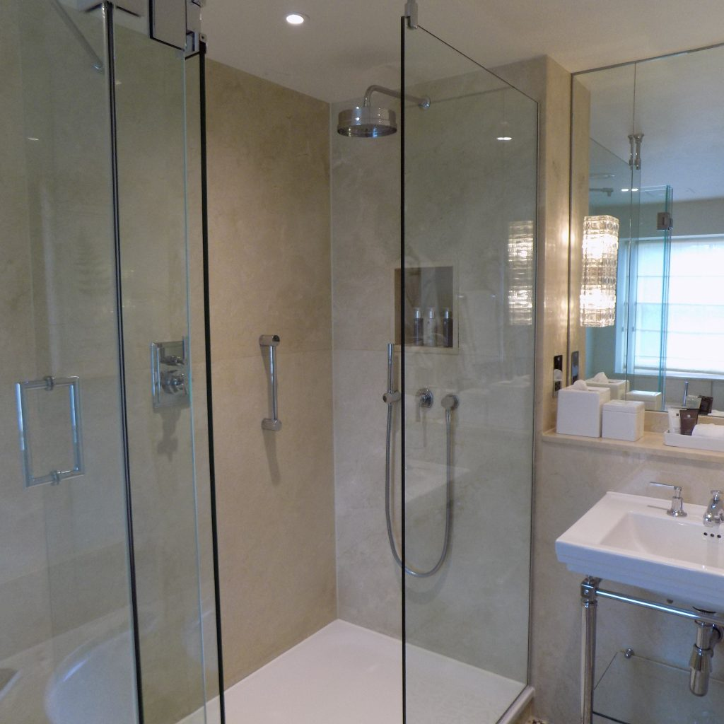 shower at dormy house