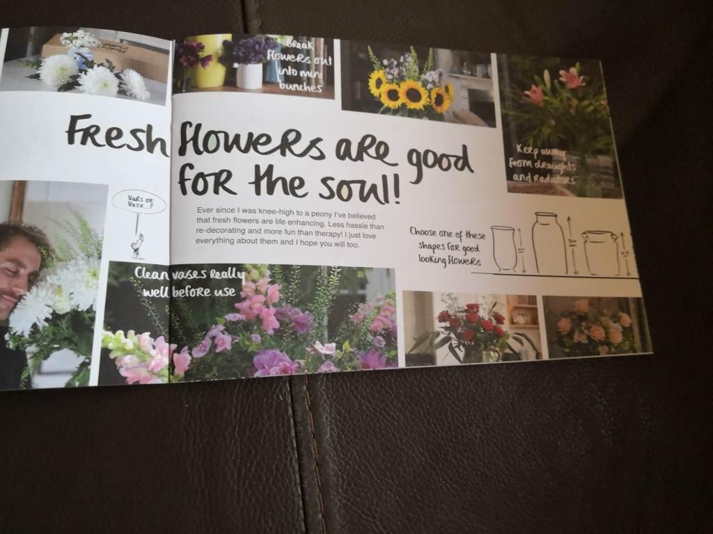 Freddie's Flowers instructions