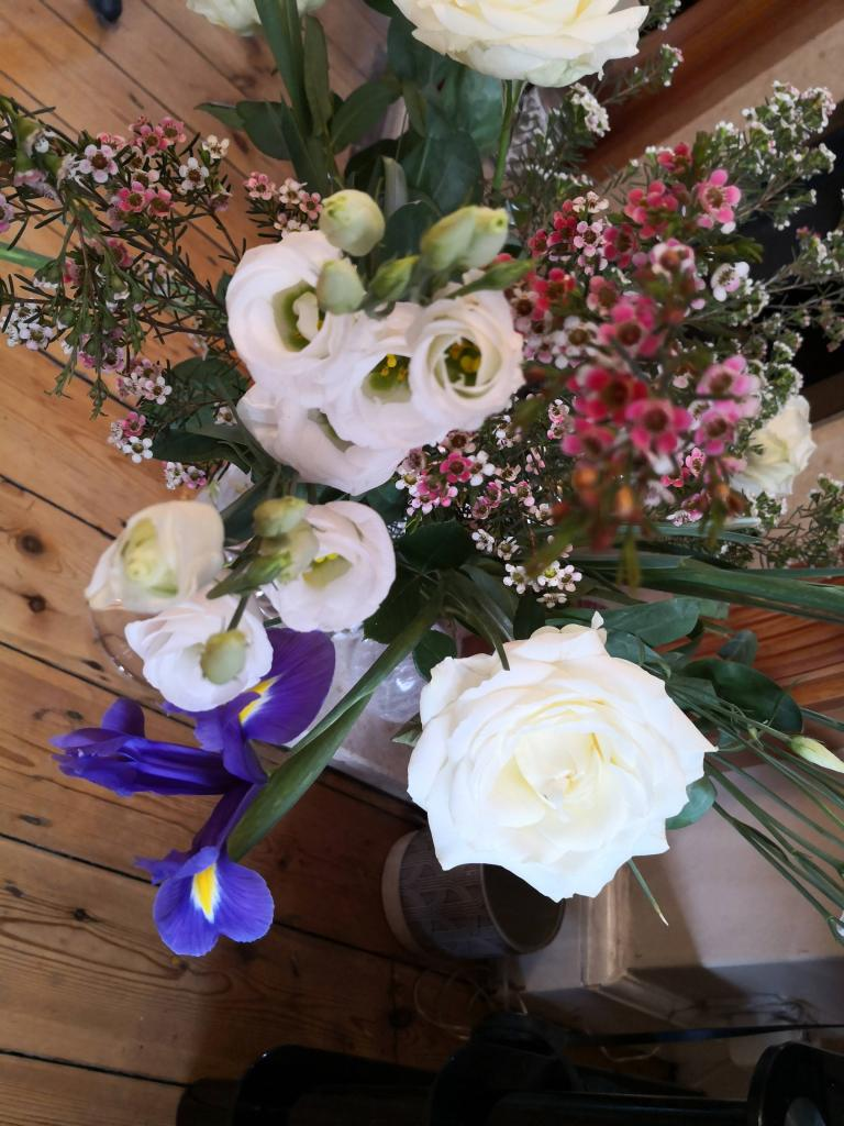 Freddie's Flowers Maggie May bouquet