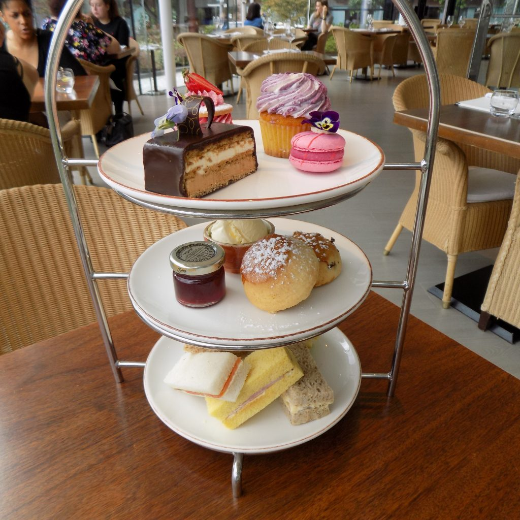 Scoff & Banter Afternoon Tea cake stand