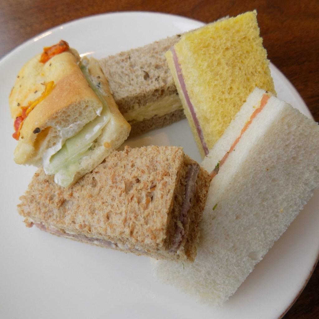 Scoff & Banter afternoon tea sandwiches
