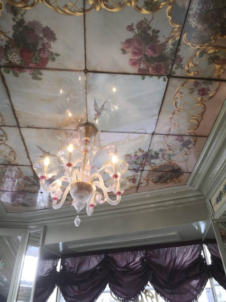 Hotel du Petit Moulin ceilings