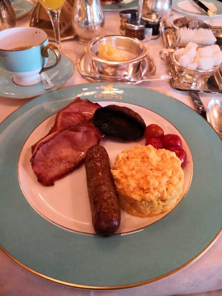 Breakfast at the Ritz