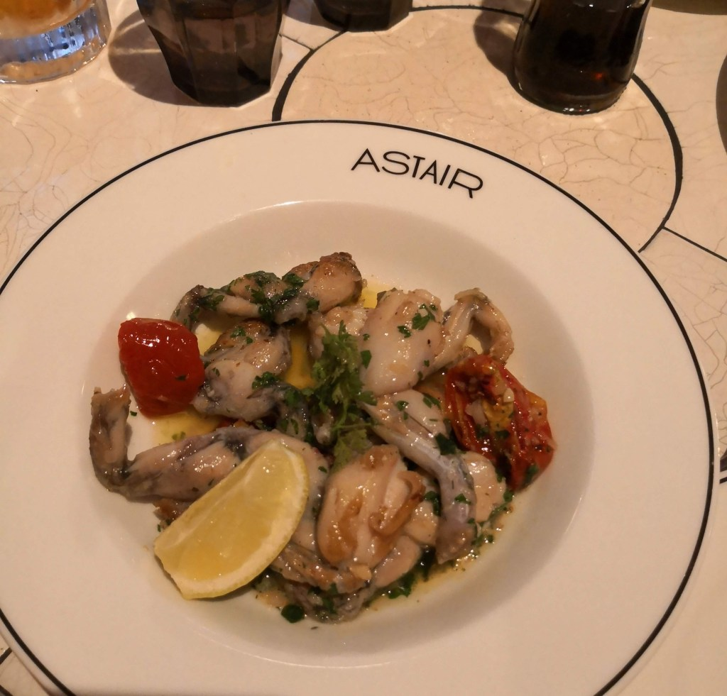 Restaurant Astair, Frogs Legs