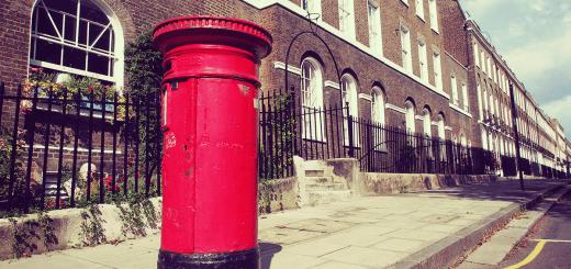 London_Autumn_houses_postbox