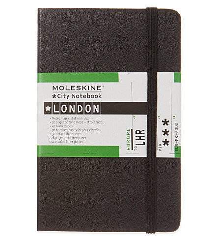London City Notebook £14.95 from Selfridges