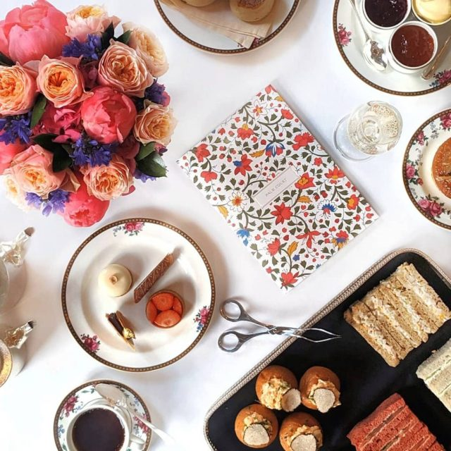 Afternoon Tea in London at Palm Court at The Langham