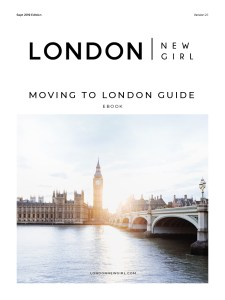 Moving to London Guide eBook by London New Girl