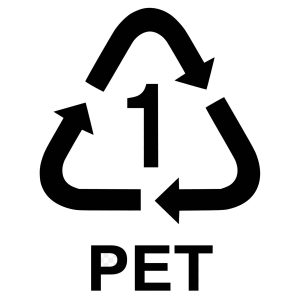 how to recycle in london PET1 icon