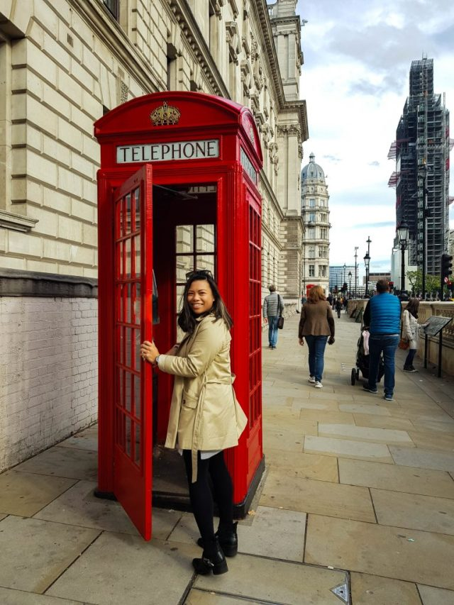 phonebox london on a 2 year visa