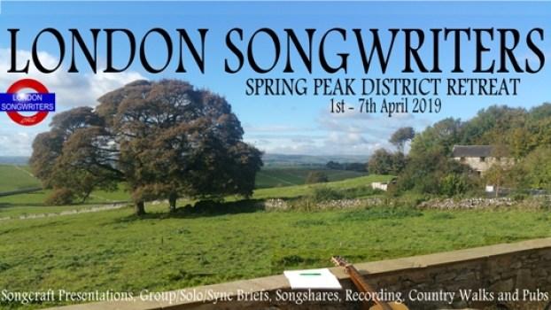 London Songwriters 2019 Spring Peak District Retreat