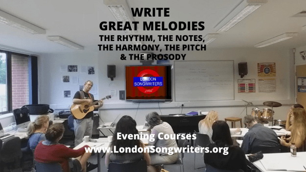 WRITE GREAT MELODIES 4 Week Evening Course