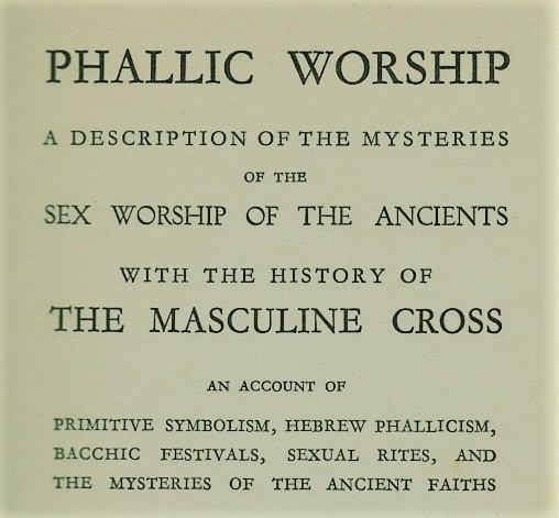 Phallic Worship & The Masculine Cross