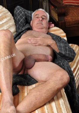 old man mature silver daddy big cock