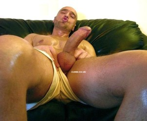 Big Mature Cock of the Month fat cock