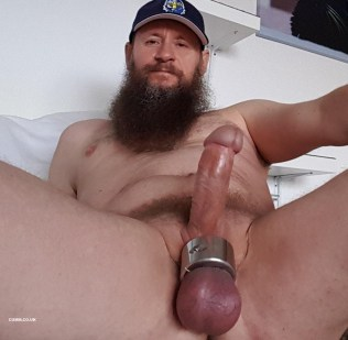 Big Mature Cock of the Month hung dutch man massive cock ring