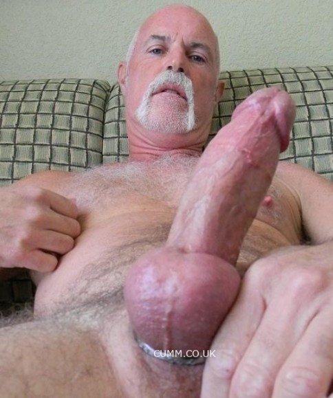silver daddy cockring erection