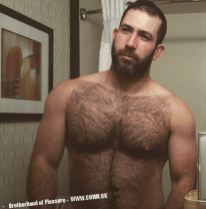 freedom of being naked hairy dutch bear
