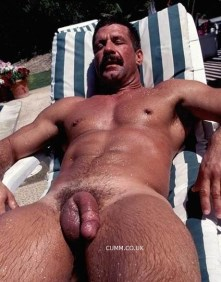 inches mag big muscle dad cock displayed in public naked nude