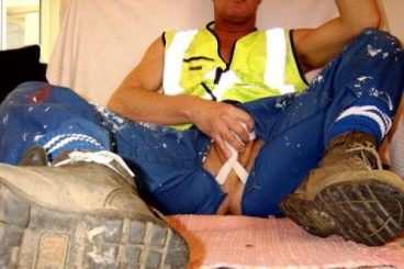 workman visible jockstrap